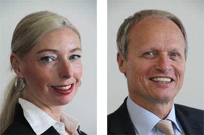 Jasmin Porter and Reinhard Fuss